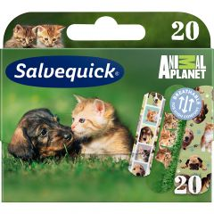 SALVEQUICK ANIMAL PLANET 20 KPL