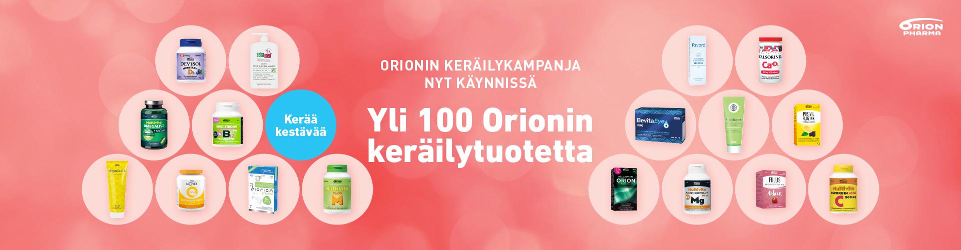 Orion keräilykampanja